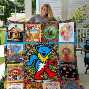Grateful Dead Quilt Blanket Ver 14