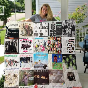 Madness Albums Quilt Blanket
