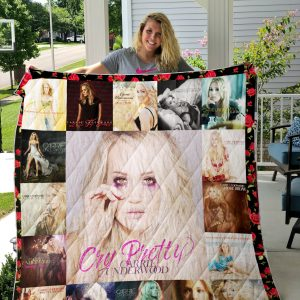 Carrie Underwood style 2 Quilt Blanket