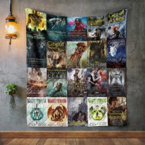Cassandra Clare Books Quilt Blanket