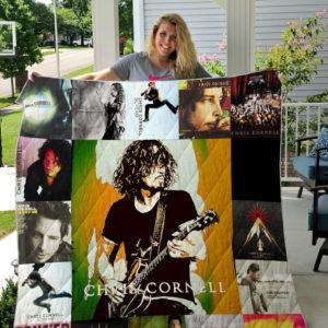 Chris Cornell Style 2 Quilt Blanket