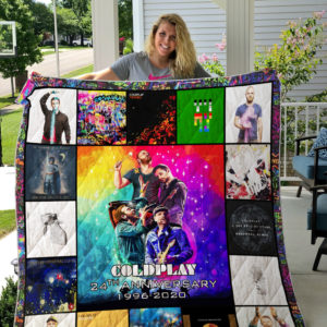 Coldplay 24th Anniversary Quilt Blanket
