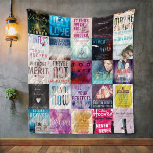 Colleen Hoover Books Quilt Blanket