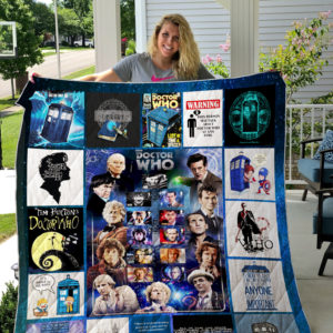 Doctor Who Quilt Blanket