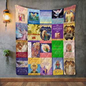 Doreen Virtue Books Quilt Blanket