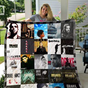 Drake Style 2 Quilt Blanket