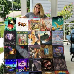 Styx 2 Quilt Blanket
