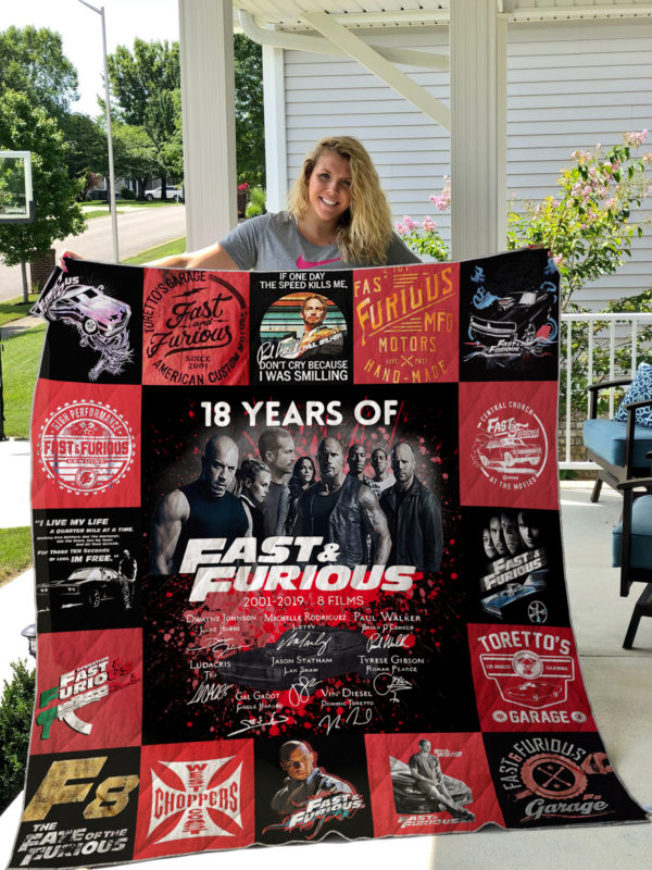 Fast & Farious Quilt Blanket