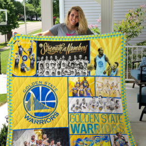 Golden State Warriors Quilt Blanket