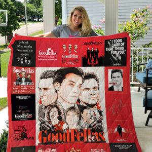 Goodfellas_2 Quilt Blanket