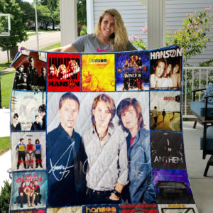 Hanson (Band) Album Covers Quilt Blanket