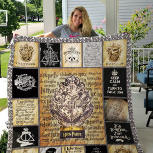 Harry Potter Style 2 Quilt Blanket