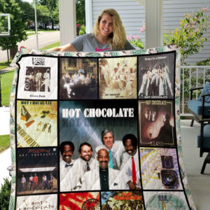 Hot Chocolate Album Covers Quilt Blanket