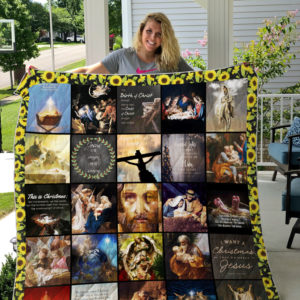 I Want A Christmas That Whispers Jesus Quilt Blanket