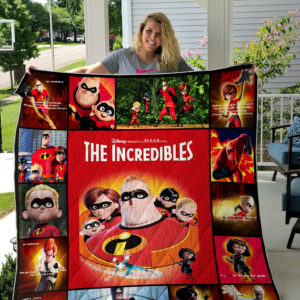 Incredibles Quilt Blanket