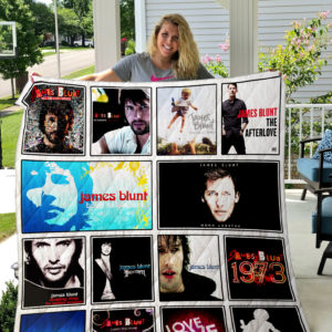 James Blunt Quilt Blanket