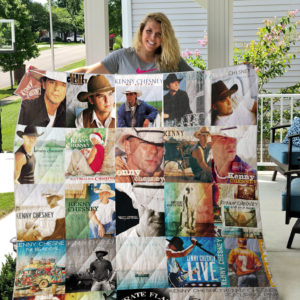 Kenny Chesney Style 2 Quilt Blanket