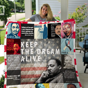 Martin Luther King Jr Quilt Blanket