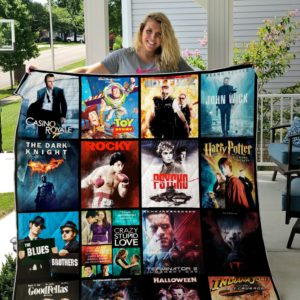 Movie Buff quilt blanket 01
