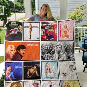 Nancy Sinatra Quilt Blanket