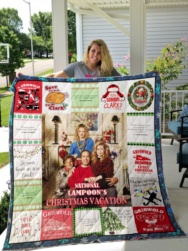 National Lampoon's Christmas Vacation Quilt Blanket