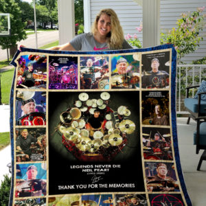Neil Peart- Thank You For The Memories Quilt Blanket