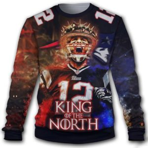 New Tom Brady NFL Player Quarterback New England Patriots Style 2 3D Print Sweatshirt