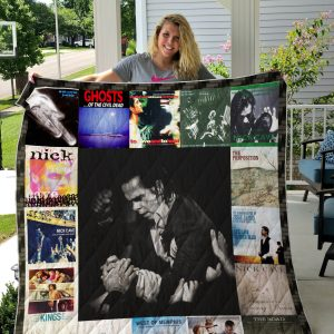 Nick Cave (Musical) Quilt Blanket