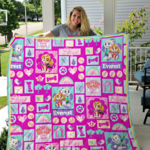 Paw Patrol For Girl Quilt Blanket