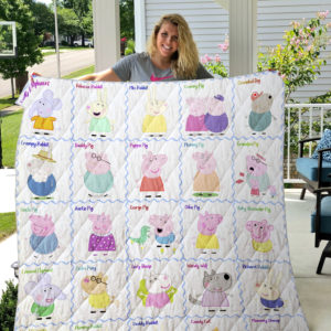 Peppa Pig Quilt Blanket