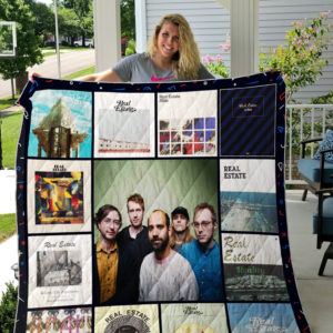 Real Estate Album Covers Quilt Blanket