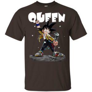 Queen Freddie Mercury Songoku T-shirt
