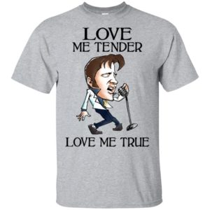 Elvis Presley Love Me Tender Love Me True T-Shirt
