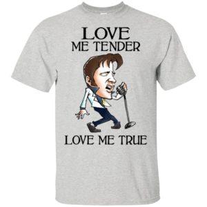 Elvis Presley Love Me Tender Love Me True T-Shirt