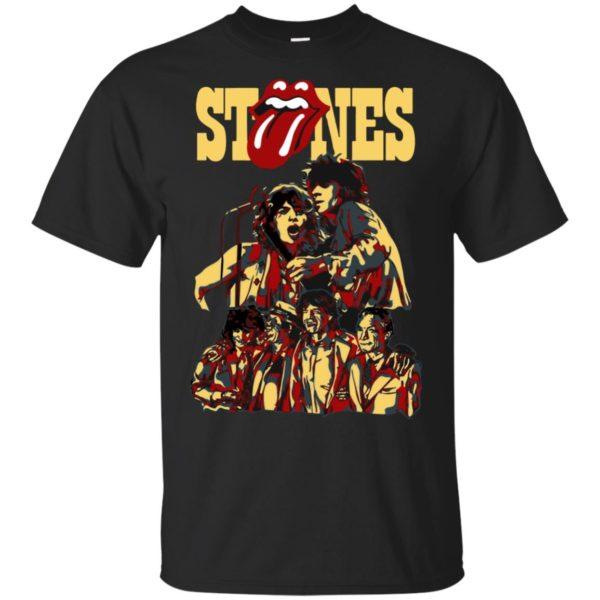 The Rolling Stones Art Vintage T-shirt