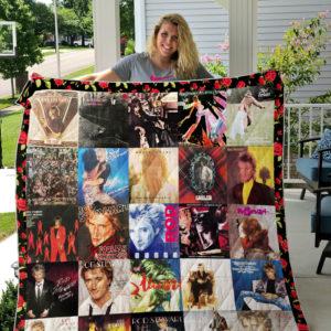 Rod Stewart Style 3 Quilt Blanket