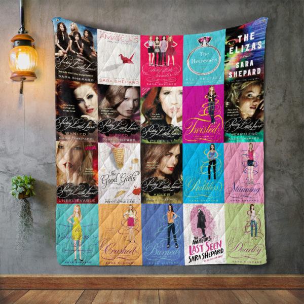 Sara Shepard Books Quilt Blanket