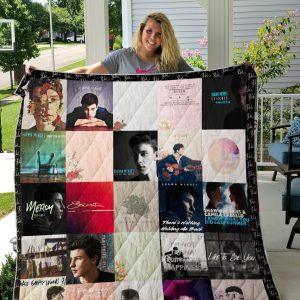 Shawn Mendes Quilt Blanket