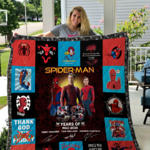 Spider-Man Quilt Blanket