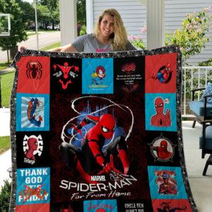 Spider-Man Style 2 Quilt Blanket