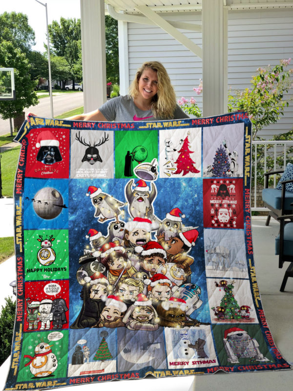 Star Wars Christmas Quilt Blanket