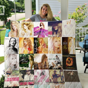Taylor Swift Quilt Blanket