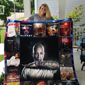 Tech N9NE Style 2 Album Covers Quilt Blanket