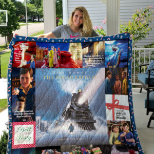 The Polar Express Style 2 Quilt Blanket