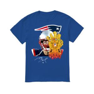 Tom Brady End Game's Stone Heavy Cotton T-Shirt