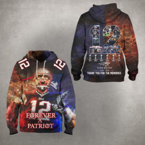 Tom Brady – Thank You For The Memories 3D Hoodie