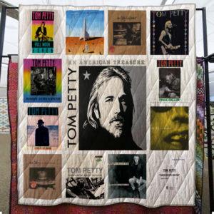 Tom Petty Quilt Blanket