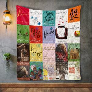 Toni Morrison Books Quilt Blanket