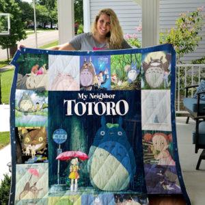 Totoro 1988 Quilt Blanket