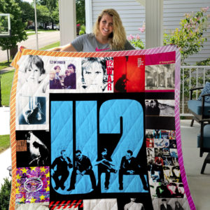 U2 Style 4 Album Covers Quilt Blanket